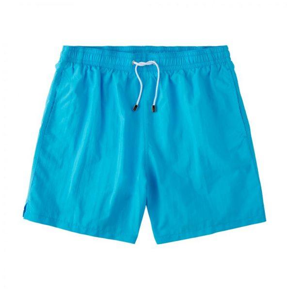 Classic Solid Swimtrunks - Turquoise