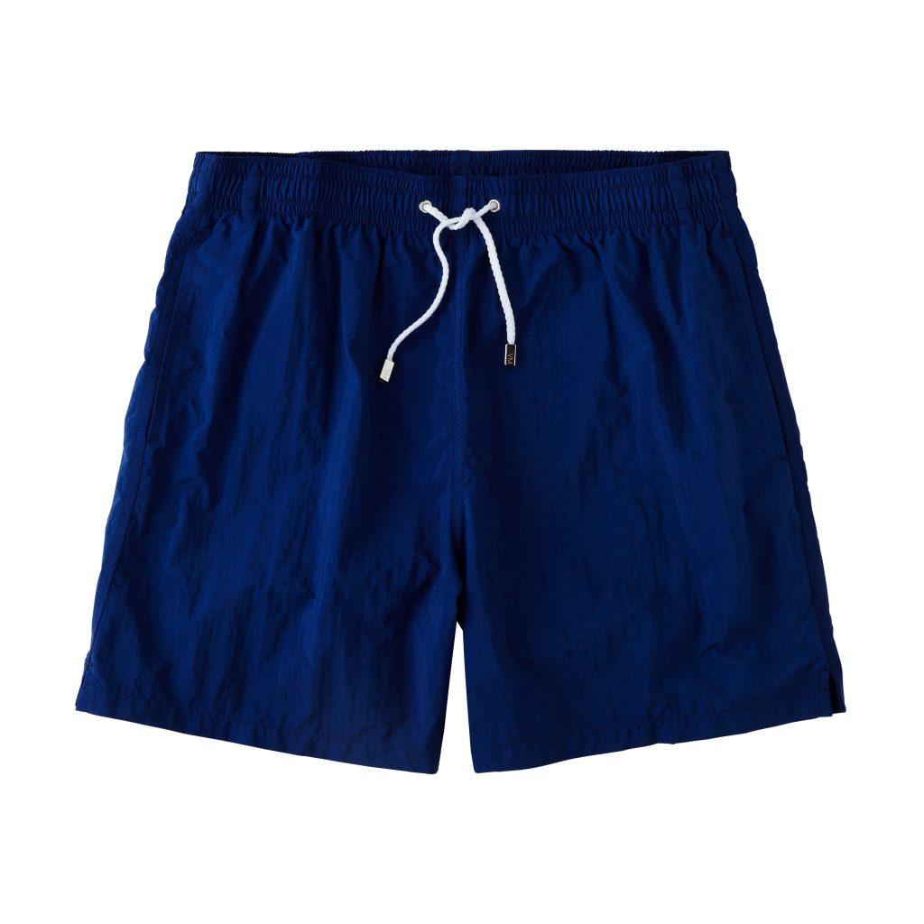 Classic Solid Swimtrunks - Blue