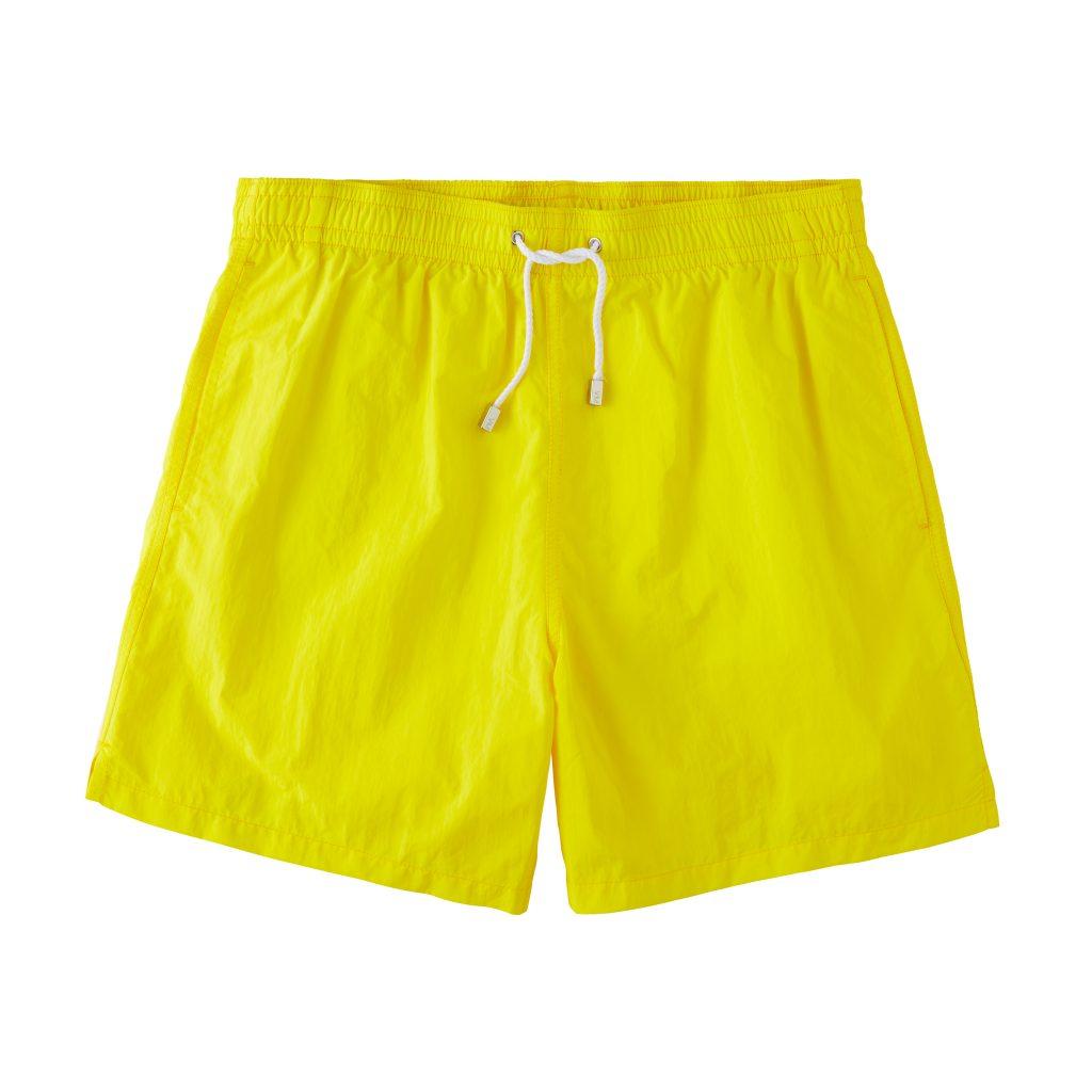 Classic Solid Swimtrunks – Yellow
