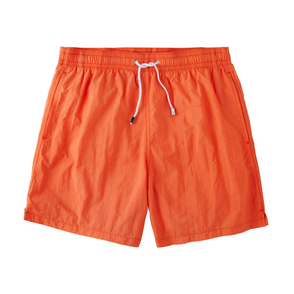 Classic Solid Swimtrunks – Coral